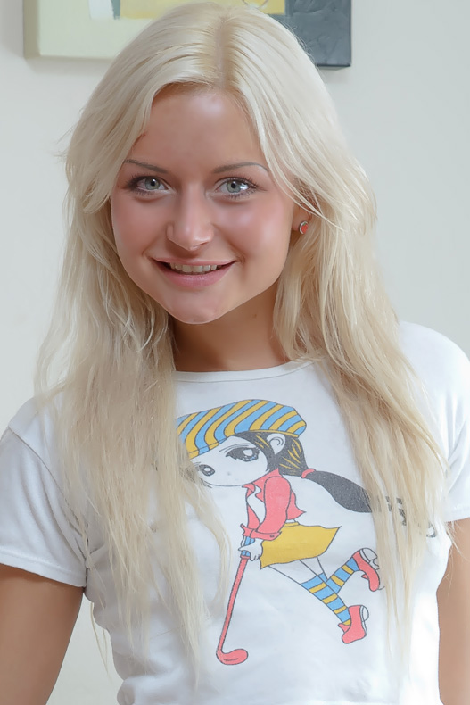 Blonde Teen Screams Bbc